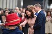 威廉王子 (右一) 與凱特 (右二)(法新社)