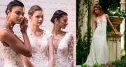 【西班牙巴塞隆拿婚紗時裝周】(Barcelona Bridal Fashion Week facebook圖片、法新社)