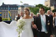2010年6月,瑞典女王儲維多利亞公主嫁前健身教練韋斯特林。(Kungahuset.se網站圖片)