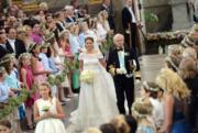2013年6月,瑞典馬德萊娜公主舉行婚禮。(www.kungahuset.se網站圖片)