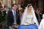 2013年,盧森堡Prince Felix和Claire Lademacher結婚。(www.monarchie.lu網站圖片)