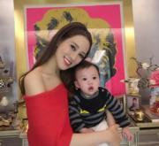 別人眼中的徐子淇是名媛,是千億新抱,但在囝囝李建熹的眼中,徐子淇就是他最愛的媽媽﹗(資料圖片)
