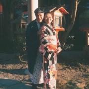 C AllStar的安仔(陳健安)做孝順仔,帶媽媽去日本旅行。看陳媽媽的笑容,就知道她有多高興﹗(網上圖片)
