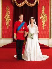 【英國王室新娘】2011年4月29日,威廉王子與凱特在西敏寺大教堂舉行婚禮。(The British Monarchy flickr圖片)