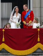 【英國王室新娘】凱特(左二)與威廉王子(右二)(The British Monarchy flickr圖片)