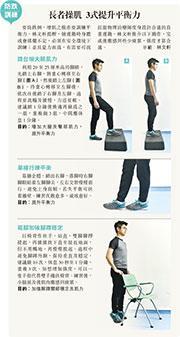 防跌訓練:長者操肌 3式提升平衡力
