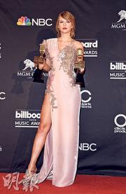Taylor Swift驚喜現身Billboard奪兩獎 BTS蟬聯最佳社交媒體藝人