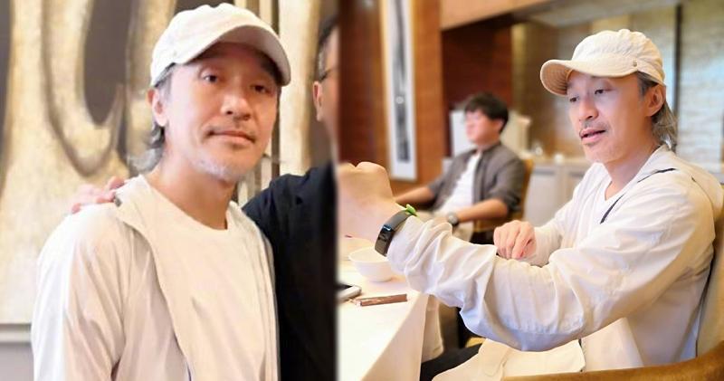 【近照曝光】55歲白髮周星馳面容憔悴 網民︰真的老了 (17:50)