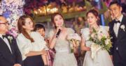 蔡卓妍與阿嬌一齊經歷過高低起跌,她發言時心情激動,邊說邊落淚。(大會提供圖片)
