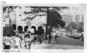 花園道(近中區政府合署)(香港政府檔案處網站截圖)