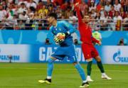 【世界盃‧葡萄牙戰伊朗】C朗 (右) (法新社)