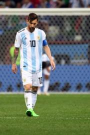 【世界盃‧阿根廷戰克羅地亞】阿根廷前鋒美斯 (法新社)
