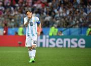 【世界盃‧阿根廷戰克羅地亞】阿根廷前鋒美斯 (新華社)