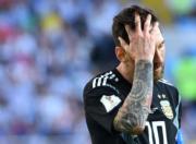 【世界盃‧阿根廷戰冰島】阿根廷前鋒美斯 (法新社)