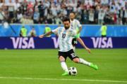 【世界盃‧阿根廷挫尼日利亞2:1】阿根廷前鋒美斯 (法新社)