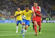 【世界盃‧巴西挫塞爾維亞2:0】 (法新社)