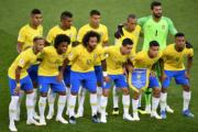 【世界盃‧巴西挫塞爾維亞2:0】巴西國家隊 (法新社)