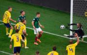 【世界盃‧瑞典挫墨西哥3:0】 (法新社)
