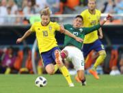 【世界盃‧瑞典挫墨西哥3:0】 (新華社)