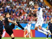 【世界盃‧克羅地亞挫冰島2:1】(新華社)