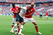 【世界盃‧法國對丹麥0:0】(法新社)