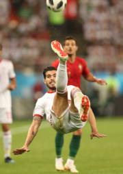 【世界盃‧葡萄牙對伊朗1:1】(法新社)