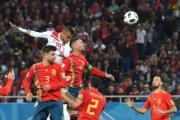【世界盃‧西班牙對摩洛哥2:2】(法新社)