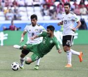 【世界盃‧沙地阿拉伯挫埃及2:1】(新華社)