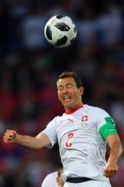 【世界盃‧瑞士對塞爾維亞】瑞士後衛Stephan Lichtsteiner(法新社)
