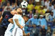 【世界盃‧阿根廷對克羅地亞】(法新社)