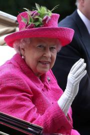 【2017 Royal Ascot】英女王(法新社)