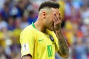 【世界盃8強-巴西1:2負比利時】尼馬(法新社)