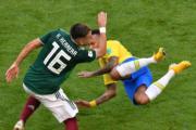 【世界盃16強-巴西挫墨西哥2:0】尼馬(後) (法新社)
