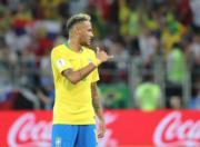 【世界盃‧巴西挫塞爾維亞2:0】尼馬 (新華社)