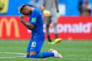 【世界盃‧巴西戰哥斯達黎加】尼馬贏波後痛哭。 (法新社)