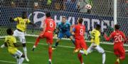 【世界盃‧英格蘭以12碼淘汰哥倫比亞】哈利卡尼 (穿9號球衣) (法新社)
