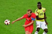 【世界盃‧英格蘭以12碼淘汰哥倫比亞】哈利卡尼 (左) (法新社)