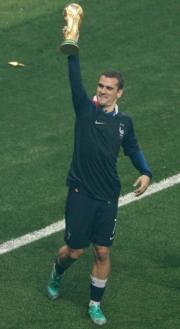 【法國奪世界盃】法國前鋒基沙文 (穿7號球衣) (法新社)