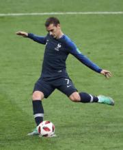 【法國奪世界盃】法國前鋒基沙文 (新華社)