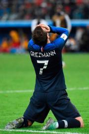 【世界盃4強 法國1︰0挫比利時】法國前鋒基沙文 (法新社)