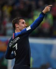 【世界盃4強 法國1︰0挫比利時】法國前鋒基沙文 (新華社)