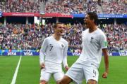 【2018世界盃】法國前鋒基沙文 (左) (法新社)