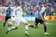 【2018世界盃】法國前鋒基沙文 (穿7號球衣) (法新社)