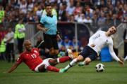 【2018世界盃】法國前鋒基沙文 (右) (法新社)