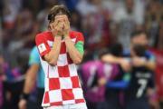 【法國奪世界盃】克羅地亞隊長莫迪歷 (法新社)
