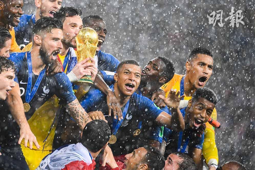 2018世界盃‧冠軍戰精彩重溫 法國再捧大力神盃