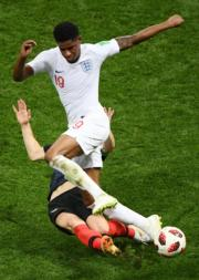 【世界盃4強 克羅地亞2︰1挫英格蘭】(法新社)