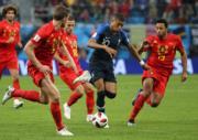 【世界盃4強 法國1︰0挫比利時】(新華社)