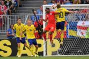 【世界盃‧8強淘汰賽 英格蘭2:0挫瑞典】(法新社)