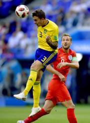 【世界盃‧8強淘汰賽 英格蘭2:0挫瑞典】(新華社)